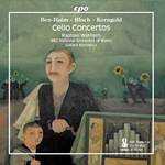Ben-Haim, Bloch & Korngold: Works for Cello & Orchestra