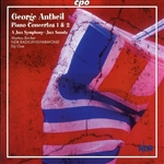 ANTHEIL, G.: Piano Concertos Nos. 1 and 2 / A Jazz Symphony / Jazz Sonata / Can-Can / Sonatina fur Radio / Death of Machines (Becker)
