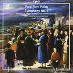 BEN-HAIM, P.: Symphony No. 1 / Fanfare to Israel /  Symphonic Metamorphosis on a Bach Chorale (North German Radio Symphony, Yinon)