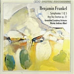 FRANKEL, B.: Symphonies Nos. 1 and 5 / May Day Overture (Queensland Symphony, Albert)
