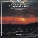 SINDING, C.: Symphonies Nos. 1 and 2 (Hannover Radio Philharmonic Orchestra, Dausgaard)
