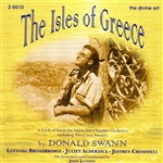 SWANN, D.: Vocal Music (The Isles of Greece) (Jansson)