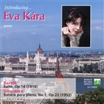 Eva Kara Plays Piano Music by Bartok and Ginastera