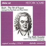 The Art of Fugue by Bach, arranged for string quartet by Roy Harris