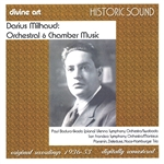 Milhaud: Orchestral and chamber music
