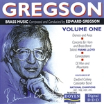 GREGSON - BRASS MUSIC  VOL 1