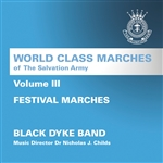 World Class Marches of the Salvation Army, Volume III