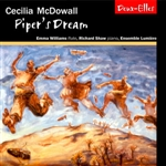 Chamber works for flute, piano and wind ensemble by Cecilia McDowall