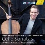 Cello Recital: Moser, Johannes - BRIDGE, F. / BRITTEN, B. / BAX, A.