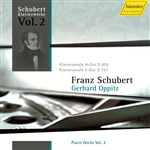 SCHUBERT, F.: Piano Works, Vol.  2 (Oppitz) - Piano Sonatas Nos. 1 and 20, D. 157, 959