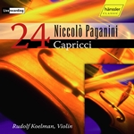 Paganini: 24 Caprices for Solo Violin, Op. 1, MS 25 (Live)