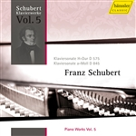 SCHUBERT, F.: Piano Works, Vol. 5 (Oppitz) - Piano Sonatas Nos. 9 and 16, D. 575, 845