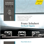 SCHUBERT, F.: Piano Works, Vol. 6 (Oppitz) - Piano Sonata No. 15, D. 840 / 4 Impromptus, D. 899 / 12 German Dances, D. 790