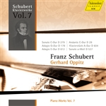 SCHUBERT, F.: Piano Works, Vol. 7 (Oppitz) - Piano Sonatas Nos. 2 and 4, D. 279 and 537 / Piano Pieces, D. 29, 1113, 604, 612