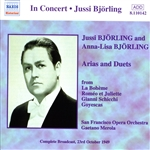 BJORLING, Jussi /  BJORLING, Anna-Lisa: Arias and Duets (1949)