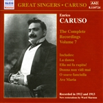 CARUSO, Enrico: Complete Recordings, Vol.  7 (1912-1913)