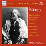 CARUSO, Enrico: Complete Recordings, Vol. 11 (1918-1919)
