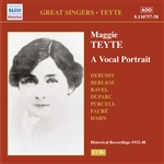 TEYTE, Maggie: Vocal Portrait (A) (1932-1948)