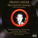 Lehar: Land Des Lachelns (Das) (Ackermann, Schwarzkopf) (1953) and Excerpts From Lehar Operettas