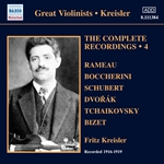 KREISLER, Fritz: Complete Recordings, Vol. 4 (1916-1919)