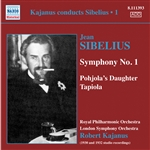 SIBELIUS, J.: Symphony No. 1 / Pohjola's Daughter / Tapiola (Kajanus Conducts Sibelius, Vol. 1) (1930-1932)