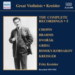 KREISLER, Fritz: Complete Recordings, Vol. 5 (1919-1924)