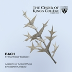 Bach; St Matthew Passion