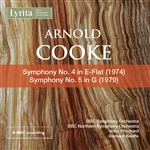 Arnold Cooke - Symphonies 4 & 5