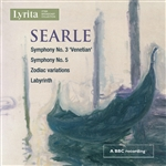 Humphrey Searle - Symphony Nos 3 & 5 / Zodiac Variations / Labyrinth
