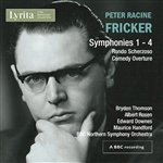 Fricker: Symphonies 1 to 4