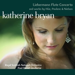 Liebermann Concerto for Flute and Orchestra and works by Hüe, Nielsen and Poulenc