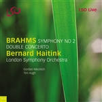 Brahms: Concerto for Violin and Cello/ Symphony No. 2
