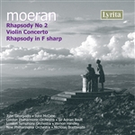 E J Moeran - Rhapsody No.2/Violin Concerto/Rhapsody in F sharp