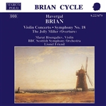 BRIAN: Symphony No. 18 /  Violin Concerto / The Jolly Miller