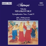 MYASKOVSKY: Symphonies Nos. 5 and 9