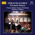 STRAUSS FAMILY: Favourite Dances (Johann Strauss Orchestra, Wildner)