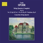 SPOHR, L.: String Quartets (Complete), Vol. 16 - Nos. 23 and 26 (Moscow Philharmonic Concertino String Quartet)