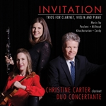 Invitation - Trios for Clarinet, Violin and Piano