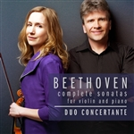 Beethoven violin and piano sonatas