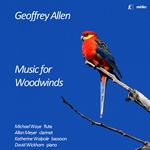 Geoffrey Allen: Music for Woodwinds