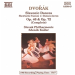DVORAK: Slavonic Dances, Opp. 46 and 72