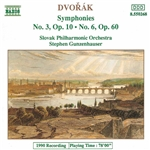 DVORAK: Symphonies Nos. 3 and 6