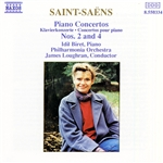 SAINT-SAENS: Piano Concertos Nos. 2 and 4