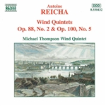 REICHA: Wind Quintets, Op. 88, No. 2 and Op. 100, No. 5
