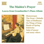 MAIDEN'S PRAYER (THE) - LEAVES FROM GRANDMOTHER'S PIANO ALBUM