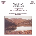 VAUGHAN WILLIAMS: Symphonies Nos. 3, 'Pastoral', and 6