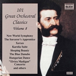 101 GREAT ORCHESTRAL CLASSICS, Vol.  8