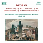 DVORAK: Hero's Song (A) /  Czech Suite / Hussite Overture