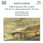 SAINT-SAENS: Cello Concertos Nos. 1 and 2 /  Suite, Op. 16