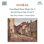 DVORAK: Four-Hand Piano Music, Vol.  2